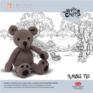 Knitty Critters Tumble Ted Kit