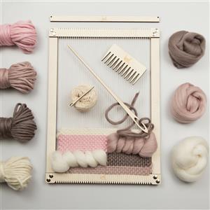 Wool Couture Milennial Large Rectangular Weaving Loom Kit