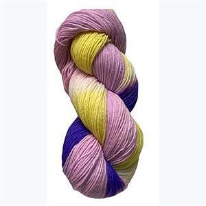 Twink Knits Pansy Parade 4 ply yarn 100g hank