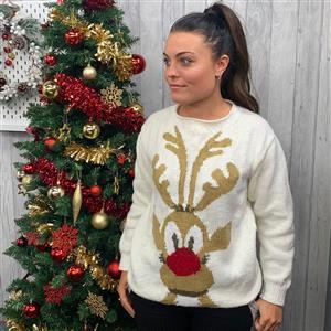 Marriner Reindeer Christmas Jumper Kit