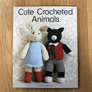 Cute Crocheted Animals Book by Emma Varnam
