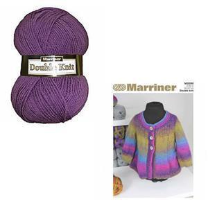 Marriner Violet Swing Women's Jacket Knitting Kit