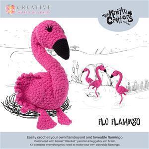 Knitty Critters Flo Flamingo Kit