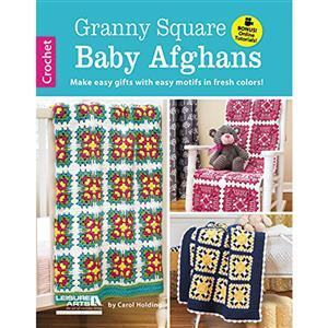 Granny Square Baby Afghans Book by Carol Holding