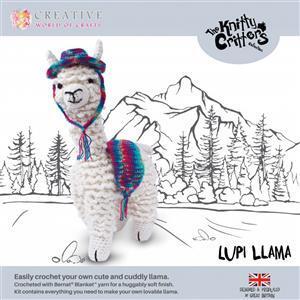 Knitty Critters Lupi Llama Kit