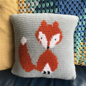 Adventures in Crafting Fox Tapestry Crochet Cushion Kit
