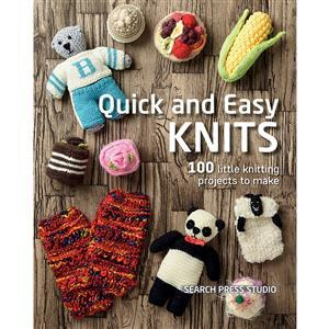 Quick and Easy Knits Book by Search Press Studio