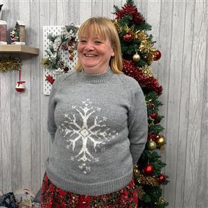 Marriner Snowflake Christmas Jumper Kit