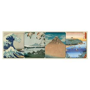 Japanese Art Magnet strip of 4