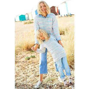 Stylecraft You & Me Grace Lilacs Child's Cardigan or Sweater Kit