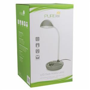 PURElite LED Hobby Lamp with Accessories Tray