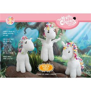 Knitty Critters Magical Forest Snow Cap Unicrons Kit