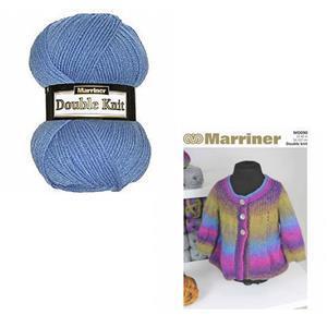 Marriner Madonna Swing Women's Jacket Knitting Kit