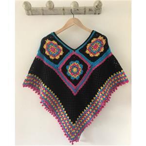 Adventures in Crafting Arcade Summer Nights Crochet Poncho  Kit