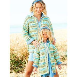 Stylecraft You & Me Olivia Child's Jacket Cardigan or Sweater Kit