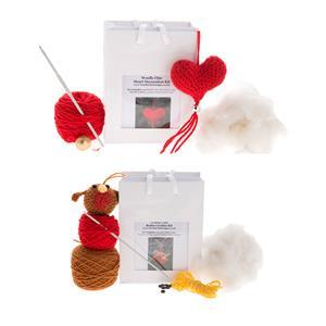 Woolly Chic Robin Kit and Heart Kit bundle