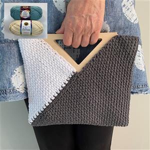 Cool Wool Teal/Cream Triangle Bag Kit
