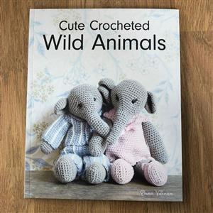 Cute Crocheted Wild Animals Book by Emma Varnam