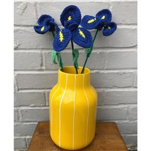 Adventures in Crafting Irises Bouquet Crochet Kit