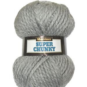 Marriner Silver Super Chunky 100g