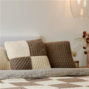 Natural Home Patchwork Cushion Yarn Pack