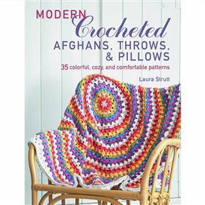 Modern Crocheted Blankets, Throws & Cushions Book by Laura Strutt