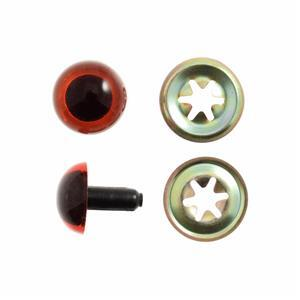 Toy Eyes, Teddy Safety 10mm Amber 6 Pack