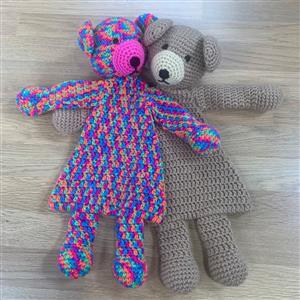 Patons Teddies Flat Toys Crochet Kit