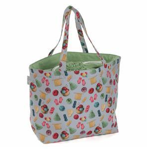 Craft Bag Drawstring Knit 'n' Pu