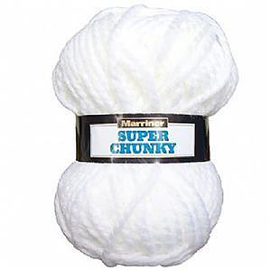 Marriner White Super Chunky 100g