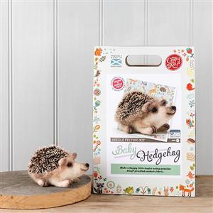 The Crafty Kit Company Baby Hedgehog Needle Felting Kit