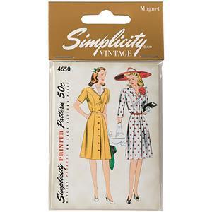 Simplicity Vintage Magnet 4650 Pattern