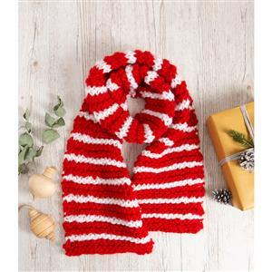 Wool Couture Adult Christmas Scarf Knitting Kit