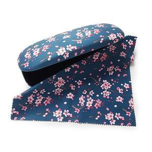 Oriental Blossom Glasses Case and Lens Cloth