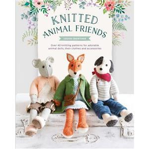 Knitted Animal Friends Book by Louise Crowther
