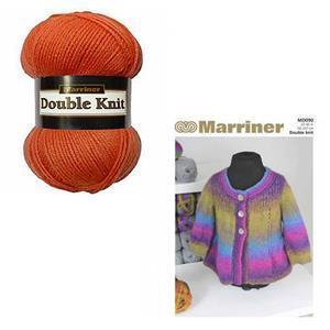 Marriner Cinnamon Swing Women's Jacket Knitting Kit