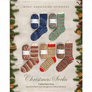 WYS Christmas Socks Pattern Book by Winwick Mum