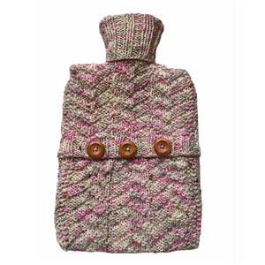 Twink Knits Cottage Garden Hot Water Bottle Cover Kit