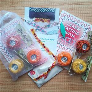 Tatting and Design Autumn Four Seasons Beginners Kit