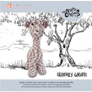 Knitty Critters Geoffrey Giraffe Kit
