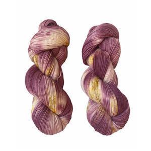 Twink Knits Plum Jam 4 ply yarn 100g hank