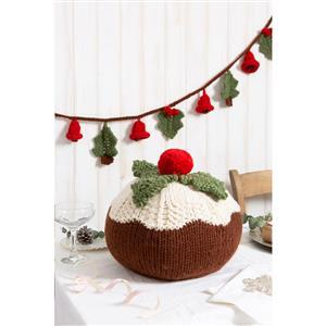 Wool Couture Christmas Pudding and Garland Knitting Kit