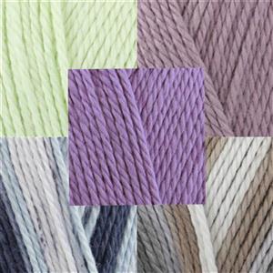 Floral Yarn Pack 5x 100g Balls of Cottonsoft DK