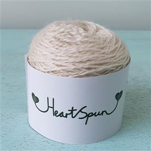 Woolly Chic HeartSpun 4 Ply Yarn 25g Natural