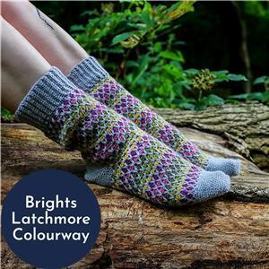 Anna Nikipirowicz Brights Latchmore Sock Kit
