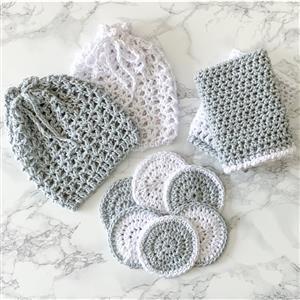 The Crafty Co. White/Silver Wash Set Kit