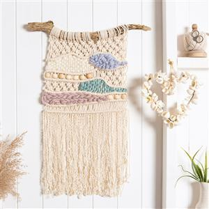 Wool Couture Calm Macramé  Weave Craft Kit